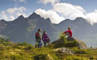 Wandern in Norwegen. CH-visitnorway.com