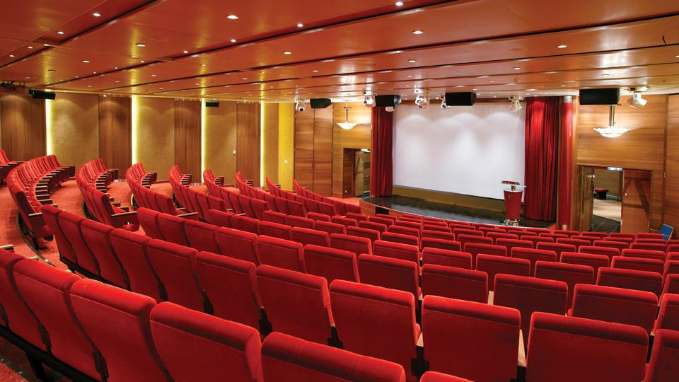 Konferenzraum Auditorium. Color Line