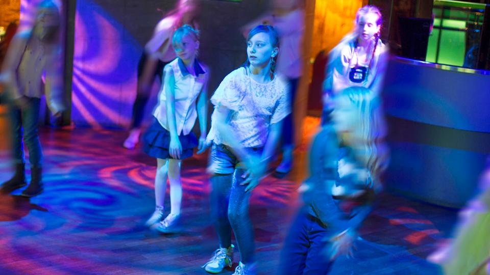 Kinderdisco im Teens Plaza. Color Line