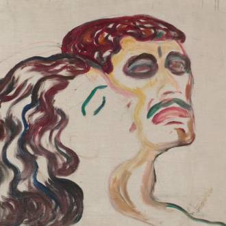 Edvard Munch: Head by head, 1905. Photo credit: Edvard Munch: Head by head, 1905
