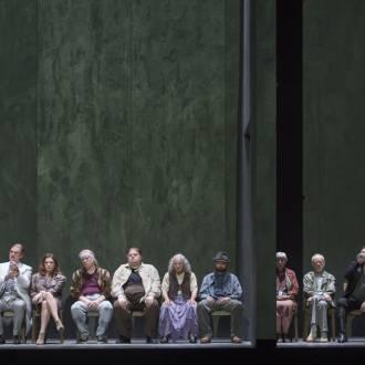 Szene aus der Oper Wozzeck . Foto. Monica Ritterhaus
