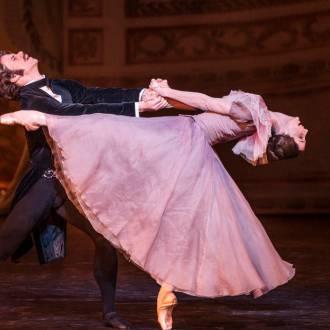 TE Szene aus dem Ballett Onegin. Foto: Erik Berg
