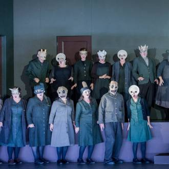 Szene aus der Oper Don Giovanni. Foto: Robert Workmann