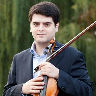 Der Violinist Michael Barenboim. Foto: Janine Escher