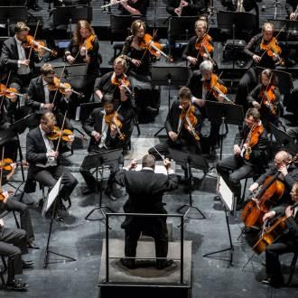 Das Orchester der Oper in Oslo. Foto: Erik Berg